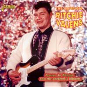 The Complete Ritchie Valens - Donna, La Bamba and the original 3 Albums - Ritchie VALENS - 50's Artists & Groups CDs, JASMINE