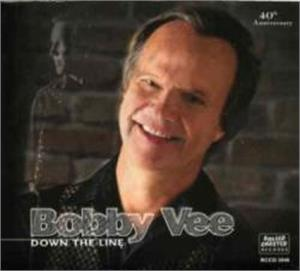 DOWN THE LINE - BOBBY VEE - 50's Artists & Groups CD, ROLLERCOASTER