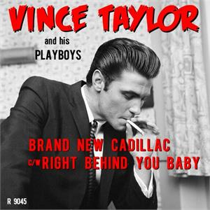 Brand New Cadillac:Right Behind You Baby - Vince Taylor - Vinyl Vinyl, Parlophone