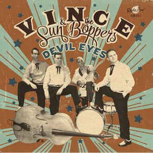 Devil Eyes - Vince & The Sun Boppers ‎ - Rhythm Bomb VINYL, RHYTHM BOMB