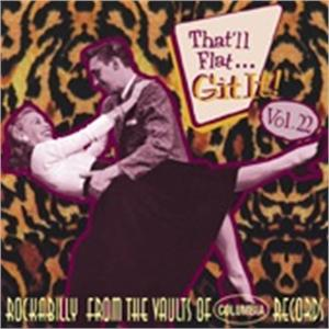 THAT'LL FLAT GIT IT 22 - VARIOUS - 50's Rockabilly Comp VINYL, BEAR FAMILY