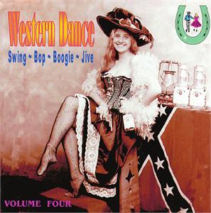 WESTERN DANCE VOL 4 - VARIOUS ARTISTS - 50's Rockabilly Comp CD, LUCKY
