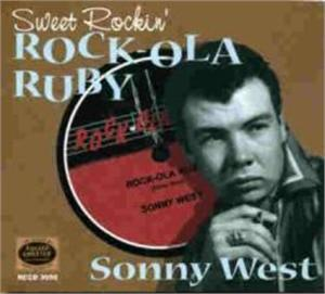 SWEET ROCKIN ROCKOLA RUBY - SONNY WEST - 50's Artists & Groups CD, ROLLERCOASTER