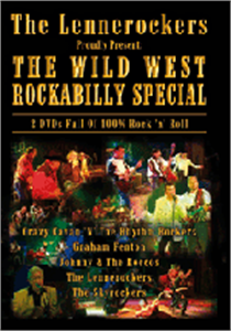 WILD WEST ROCKABILLY SHOW - VARIOUS - DVDs CDs, LRO