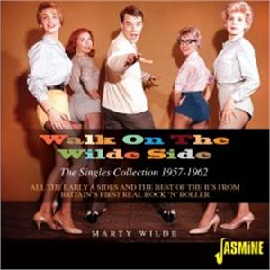 Walk on the Wilde Side – The Singles Collection 1957-1962 - Marty WILDE - BRITISH R'N'R CD, JASMINE