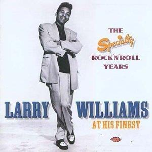 SPECIALTY ROCK N ROLL YEARS (2 CD) - LARRY WILLIAMS - 50's Artists & Groups CD, ACE